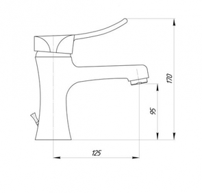 Смеситель для раковины Migliore Chic FP.CHC-42032