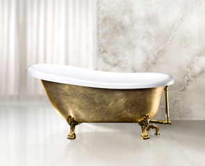 Слив-перелив для ванны BelBagno арт. BB567-OVF-BRN, бронза