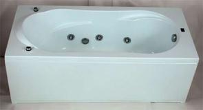 Ванна акриловая BAS Ahin (АХИН) 170x80