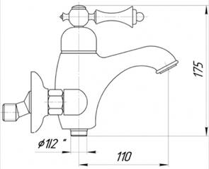 Смеситель для ванны Migliore Bomond ML.BMD-9702