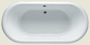 Ванна акриловая Riho Seth 180х86 овальная