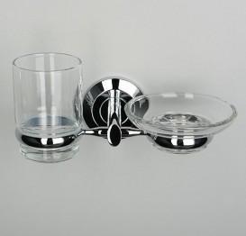 Держатель стакана и мыльницы Wasser Kraft K-6226