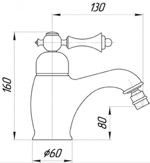 Смеситель для биде Migliore Bomond ML.BMD-9723