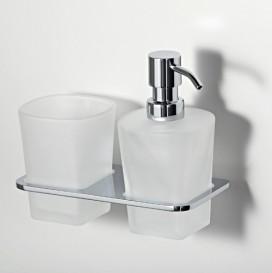 Держатель стакана и дозатора Wasser Kraft К-5089