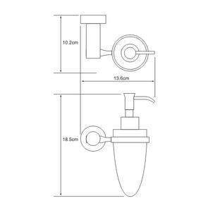 Дозатор для жидкого мыла 160 мл Wasser Kraft K-9499