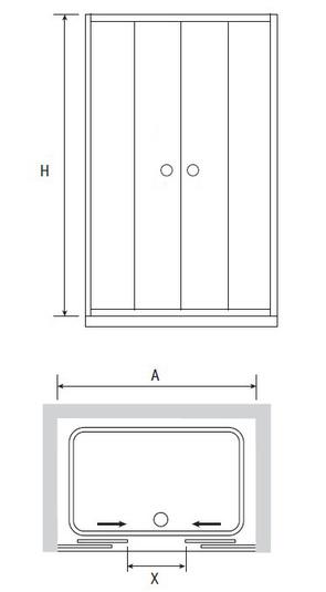 Душевая дверь RGW CL-10