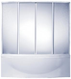 "Шторка для ванны BAS Фиеста пластик ""Вотер"""