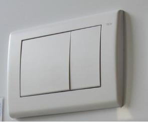 Панель смыва TECEplanus с 2 клавишами арт. 92403..