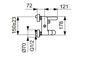 Душевая система Vidima Balance BA270AA