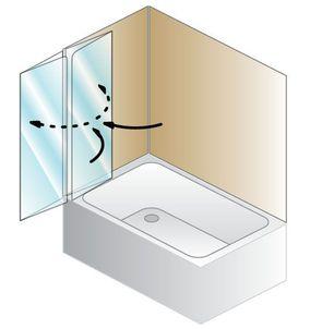 Душевая шторка на ванну Kolpa-san Sole TP 112