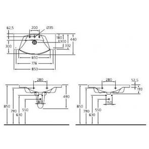 Раковина подвесная Ideal Standard MOTION W890101