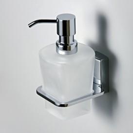 Дозатор для жидкого мыла стеклянный, 300 ml  Wasser Kraft К-5099