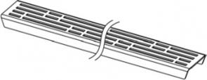 Решетка TECEdrainline для слива, дизайн Basic полированная
